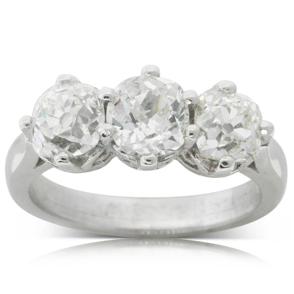 18ct White Gold 2.90ct Diamond Coronado Ring