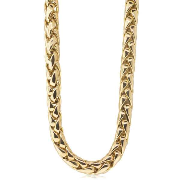 18ct Yellow Gold 6.2mm Foxtail Necklace - Walker & Hall