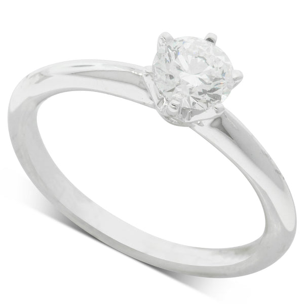18ct White Gold .60ct Diamond Cosmopolitan Ring - Walker & Hall