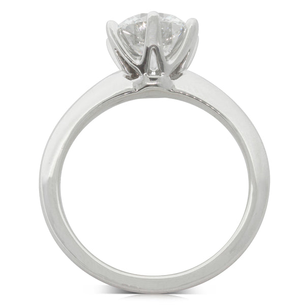 18ct White Gold 2.01ct Diamond Cosmopolitan Ring - Walker & Hall