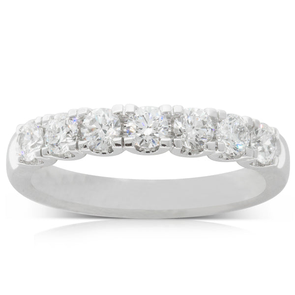 18ct White Gold .82ct Diamond Ring - Walker & Hall