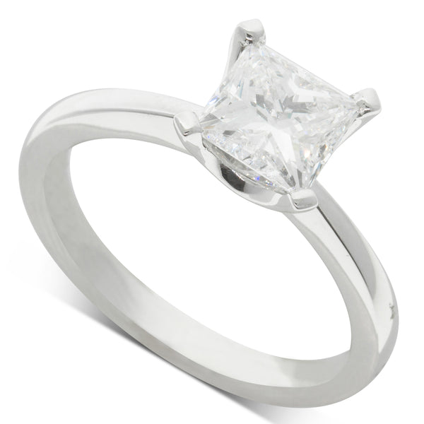 18ct White Gold 1.50ct Diamond Royale Ring - Walker & Hall