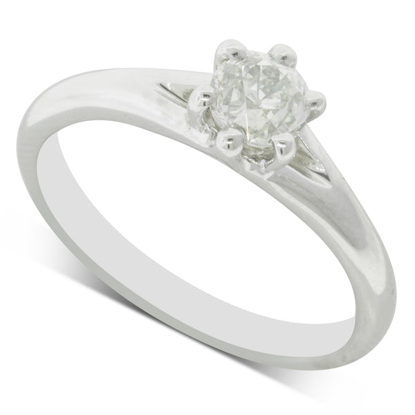 Platinum .61ct Diamond Grace Ring - Walker & Hall