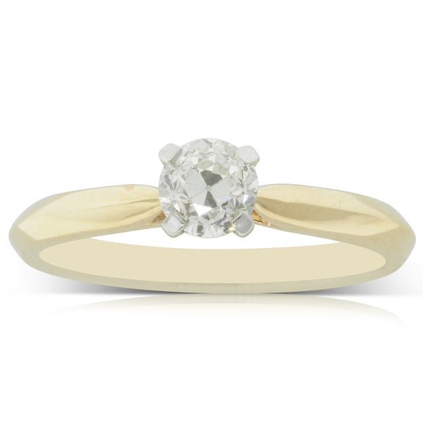 18ct Yellow Gold .60ct Diamond Venetian Ring - Walker & Hall