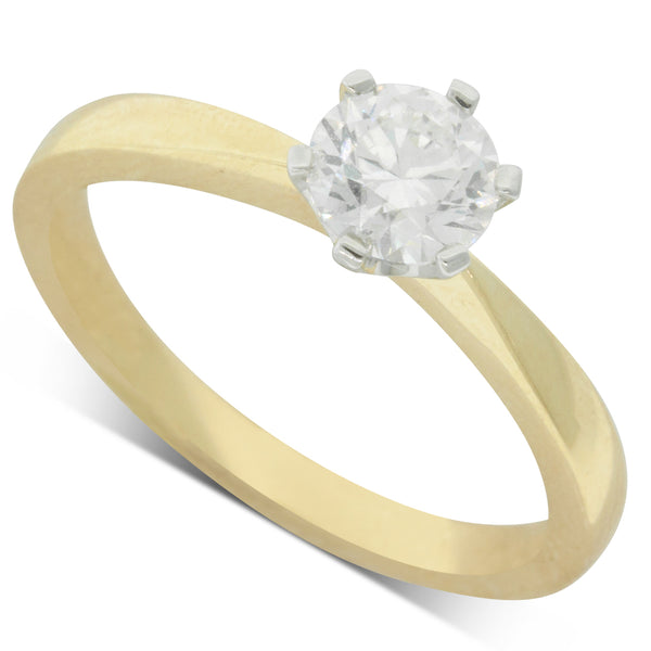 18ct Yellow Gold .66ct Diamond Nova Ring - Walker & Hall