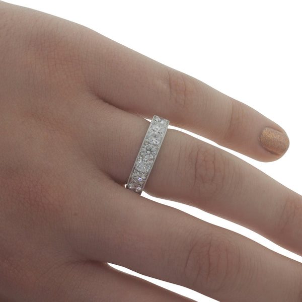 18ct White Gold 1.32ct Diamond Ring - Walker & Hall