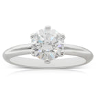 18ct White Gold 1.50ct Diamond Cosmopolitan Ring - Walker & Hall