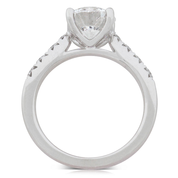 18ct White Gold 2.20ct Diamond Phoenix Ring - Walker & Hall