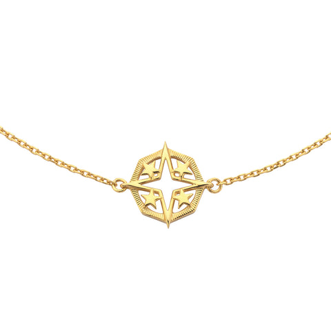 Zoe & Morgan x Walker & Hall Outshine Necklace - Gold Plated - Walker & Hall