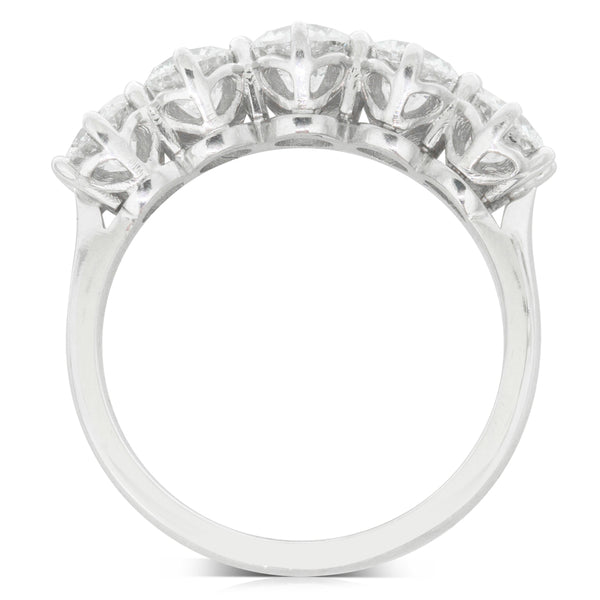 18ct White Gold 1.89ct Diamond Monarch Ring - Walker & Hall
