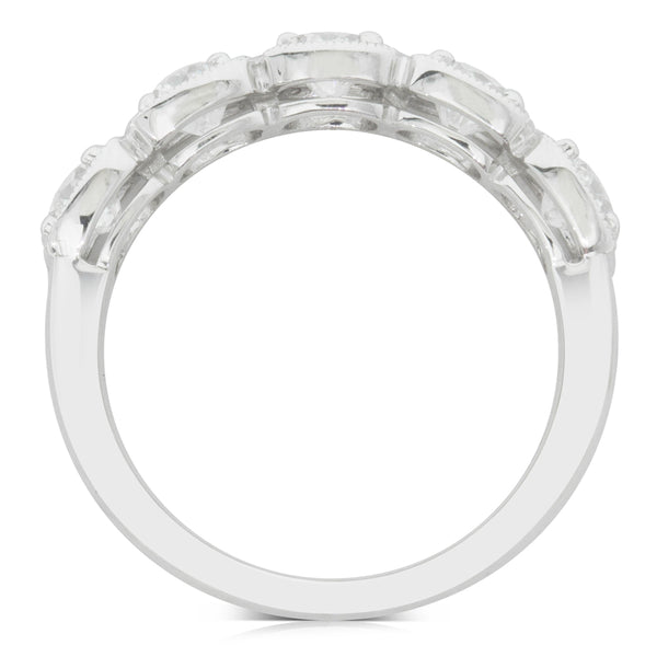 18ct White Gold 1.51ct Diamond Ring - Walker & Hall