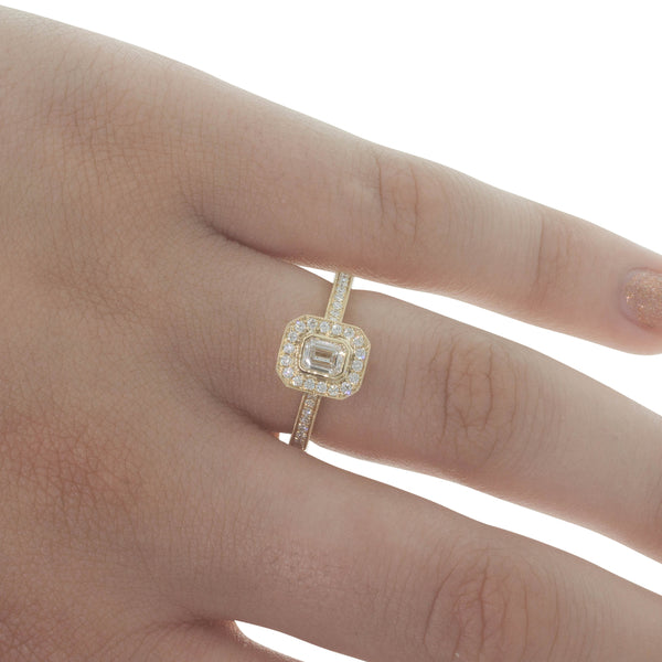 18ct Yellow Gold .30ct Diamond Ring - Walker & Hall