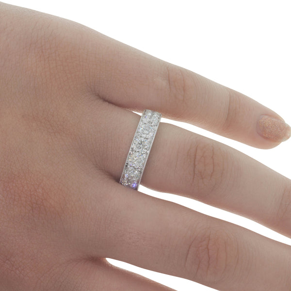 18ct White Gold 2.72ct Diamond Orion Ring - Walker & Hall