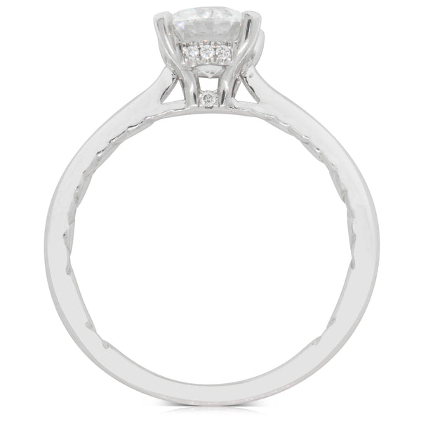 18ct White Gold 1.20ct Flawless Diamond Ring - Walker & Hall