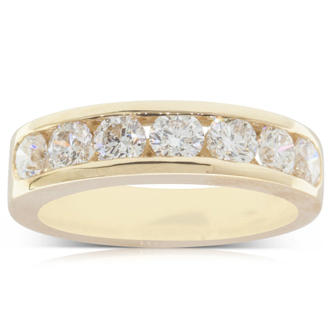 18ct Yellow Gold 1.30ct Diamond Tigris Ring - Walker & Hall