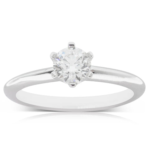 18ct White Gold .60ct Diamond Cosmopolitan Ring
