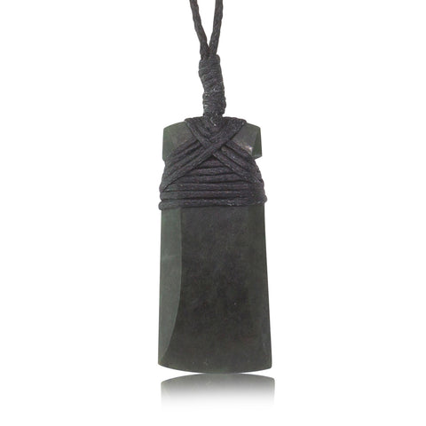NZ Greenstone Small Toki Pendant - Walker & Hall