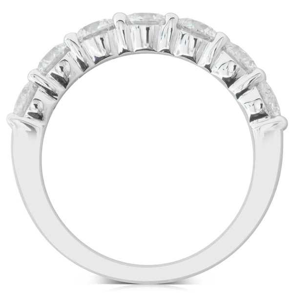 18ct White Gold 1.78ct Diamond Panorama Ring - Walker & Hall