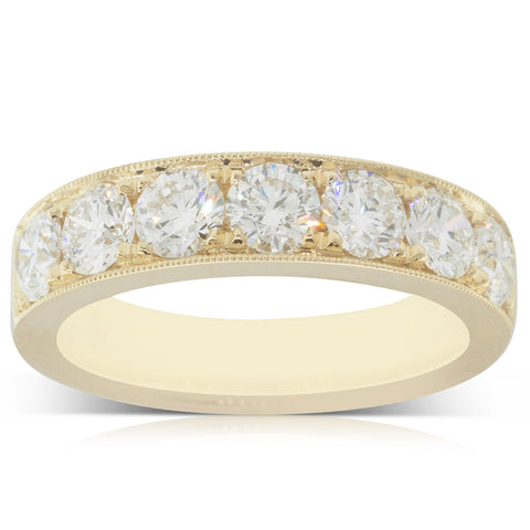 18ct Yellow Gold 1.66ct Diamond Orion Ring - Walker & Hall