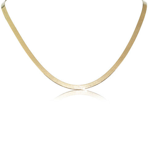 Deja Vu 18ct Yellow Gold Ribbon Necklace - Walker & Hall