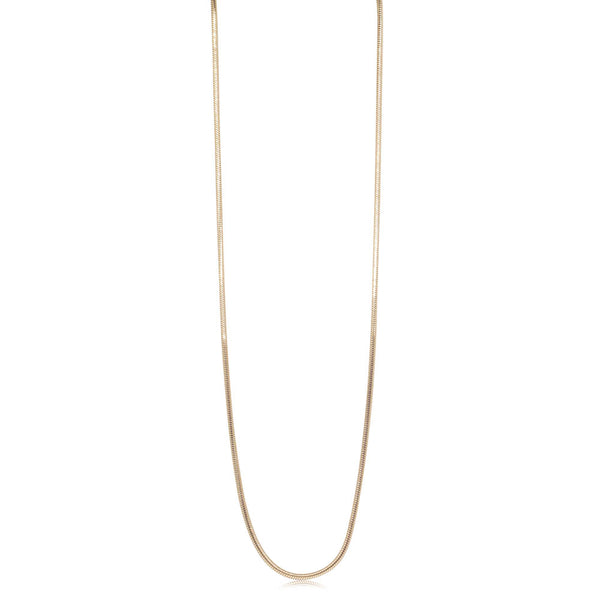 Deja Vu 9ct yellow Gold Snake Chain - Walker & Hall