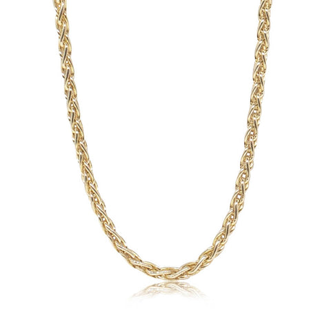 Deja Vu 9ct Yellow Gold Foxtail Chain - Walker & Hall