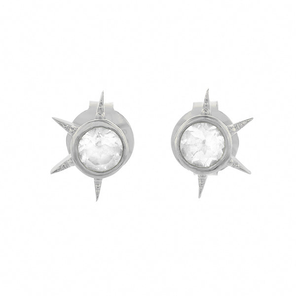 Zoe & Morgan Summer Of Love Earrings - Sterling Silver - Walker & Hall