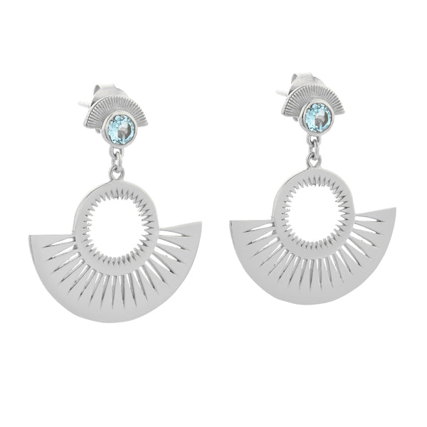 Zoe & Morgan Pocket Full Of Sunshine Earrings - Sterling Silver - Walker & Hall