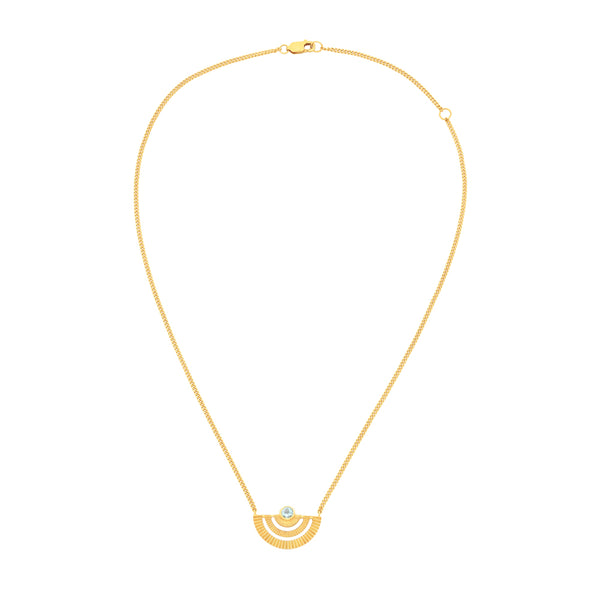 Zoe & Morgan Golden Hour Necklace - Gold Plated - Walker & Hall