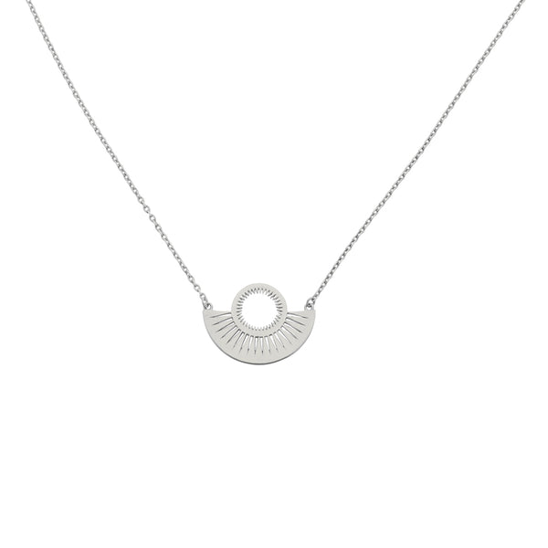 Zoe & Morgan Pocket Full Of Sunshine Necklace - Sterling Silver - Walker & Hall