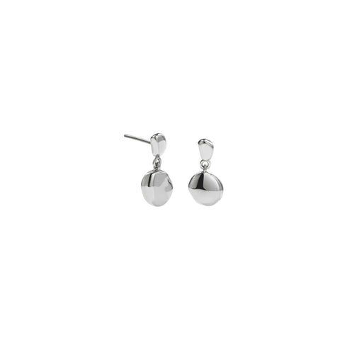 Meadowlark Double Stud Earrings - Sterling Silver - Walker & Hall