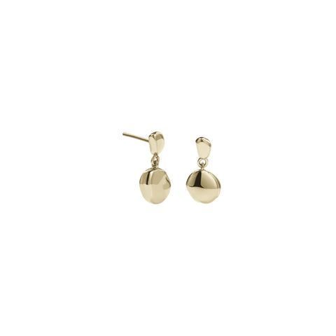 Meadowlark Double Stud Earrings - Gold Plated - Walker & Hall