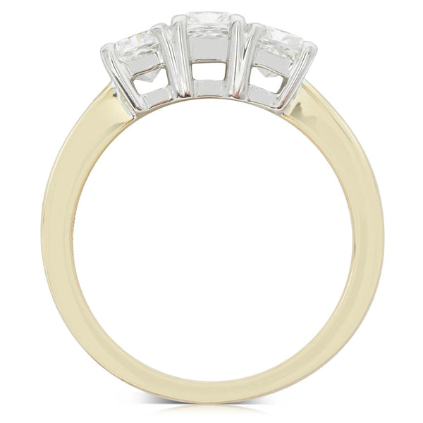 18ct Yellow Gold 1.62ct Diamond Ring - Walker & Hall
