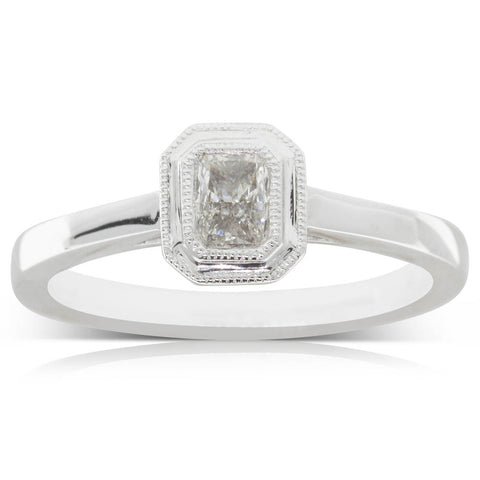 Platinum .31ct Diamond Windsor Ring - Walker & Hall