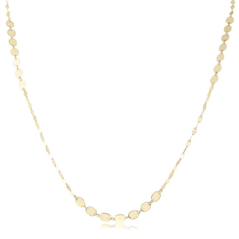 Deja Vu 9ct Yellow Gold Fancy Link Necklace - Walker & Hall