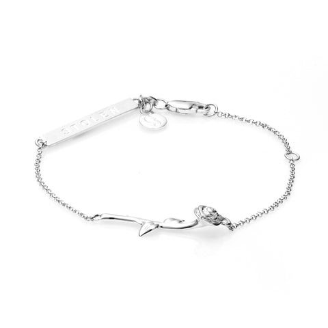 Stolen Girlfriends Club Rose Bar Bracelet - Walker & Hall