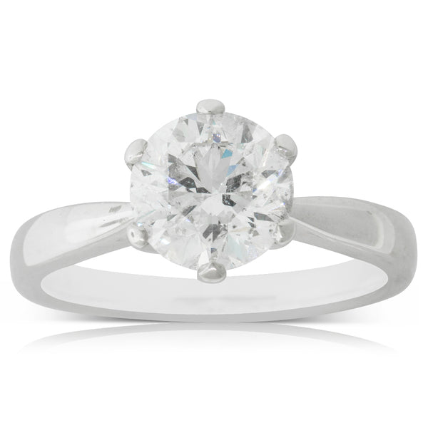 18ct White Gold 2.00ct Diamond Nova Ring - Walker & Hall