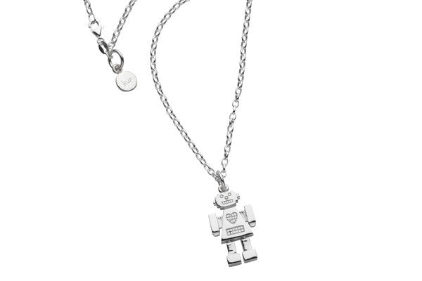 Karen Walker Mrs Robot Necklace - Sterling Silver - Walker & Hall