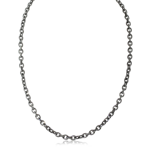 Stainless Steel Diamond Cut Trace Chain - Walker & Hall