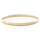 9ct Yellow Gold 4.5mm Bangle - Walker & Hall