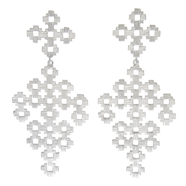 Zoe & Morgan Chimi Earrings - Sterling Silver