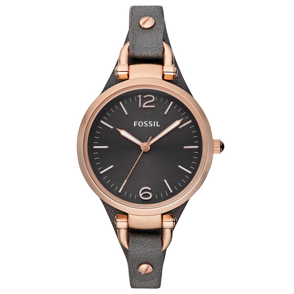 Fossil Georgia Es3077 Watch - Walker & Hall