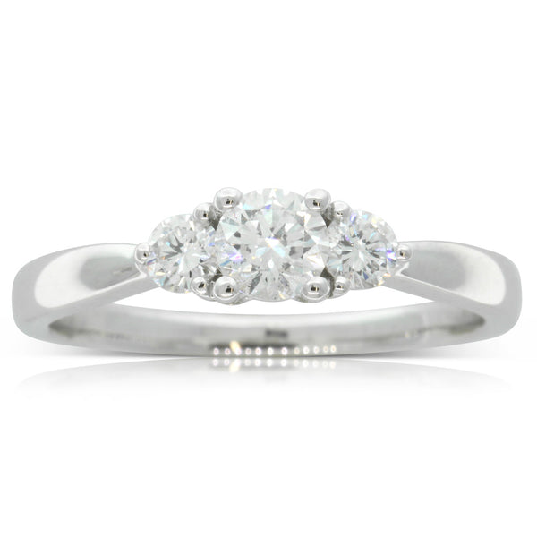18ct White Gold .30ct Diamond Elysian Ring