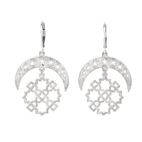 Zoe & Morgan Essaouira Earrings - Sterling Silver - Walker & Hall
