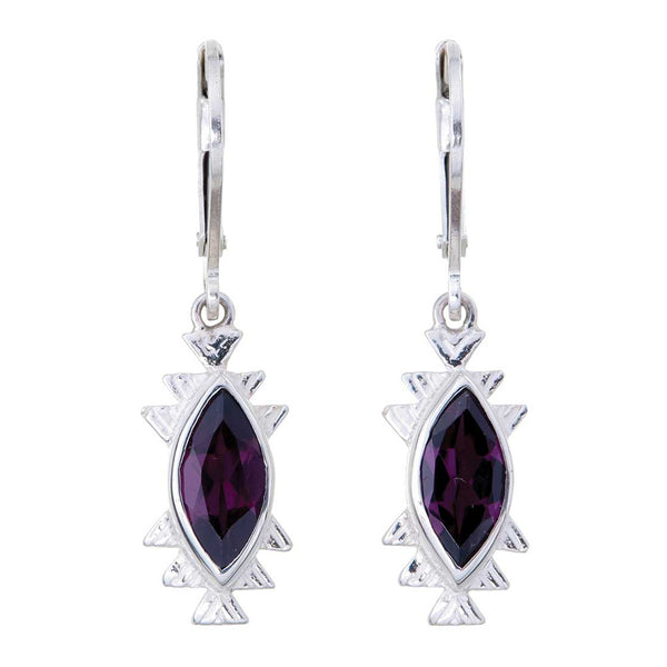 Zoe & Morgan Izel Earrings - Sterling Silver - Walker & Hall
