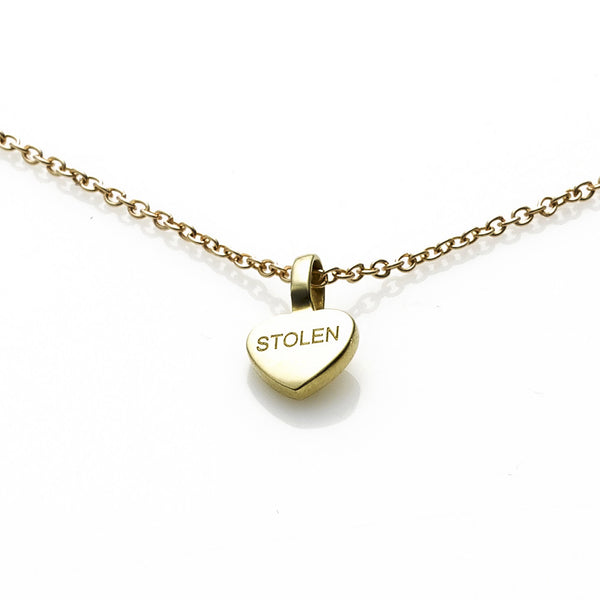 Stolen Girlfriends Club Stolen Heart Pendant - Yellow Gold
