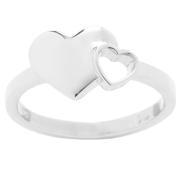 Karen Walker Exploding Hearts Ring - Sterling Silver - Walker & Hall