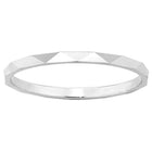 Karen Walker Velocity 1.5mm Band - Sterling Silver - Walker & Hall