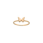 Karen Walker Mini Butterfly Ring - 9ct Yellow Gold - Walker & Hall