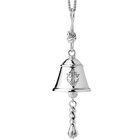 Karen Walker Bell Necklace - Sterling Silver - Walker & Hall